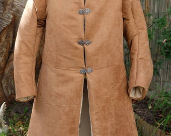 jacket doublet, medieval removable sleeves