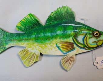 Largemouth Bass, Bass, Ornament, Largemouth Bass ornament, Largemouth bass gift, Unique bass gift, Novelty bass gift, Game fish ornament
