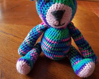 Crocheted 9 inch Bears