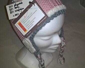 Handknitted child Peruvian Hat