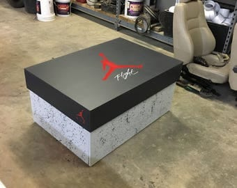 Custom Giant Jordan Shoe storage box