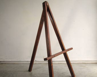 Rustic Wooden Display Easel 1M