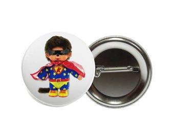 Large badge kiki superman 50 mm