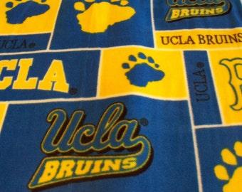 UCLA  2 ply  Fleece Blanket