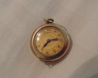 Vintage Ladies Pocket Watch Pendant (still works!)