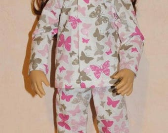 Pajamas tie for doll maru & friends