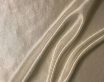 Gold Satin Fabric