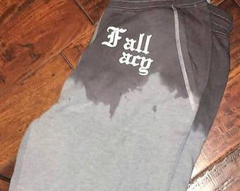 """Street wear: """"Fallacy"""" hand dyed sweat pants"""