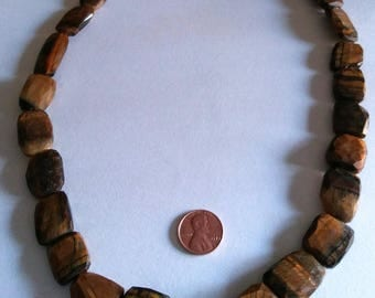Wow Tiger Eye Bead Necklace