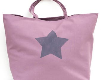LARGE Tote Bag purple