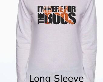 Halloween T-Shirt/Halloween Shirt/Hooded Sweatshirt/Long sleeve T-shirt/Glitter Halloween Shirt/T-shirt/Ghost T-shirt