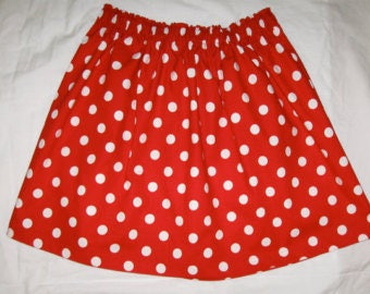children's polka dot skirt.