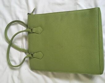 Vintage 90's Green Handbag