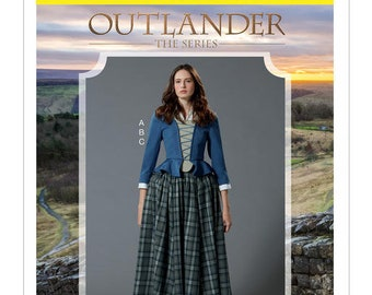 By McCall's M7735 Outlander costume sewing pattern