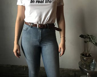 Let's Meet Tee - Anti Social Shirt | Anti Social | Lets Meet | Real Life | Lets Meet In Real Life | Anti Social | Millennial Shirt