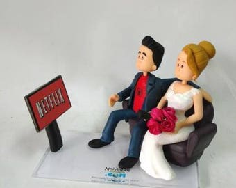 Cake topper wedding