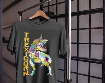 T-Rexicorn Dinosaur Unicorn T-Shirt - Funny Unicorn Shirts - Dinosaur T-Shirt - Unicorn Tee - Unicorn Gifts - Unicorn Lover Shirt