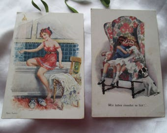 Antique postcards, vintage postcards, old postcards, collecting, collectibles, postcards, antique, collector's item postcard,