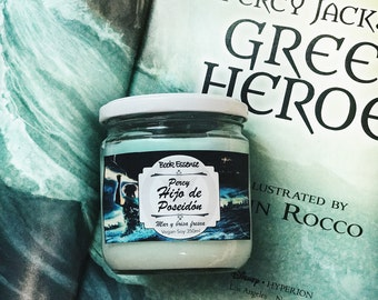 Percy son of Poseidon Soy Candle