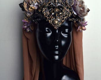 Magical flower headdress