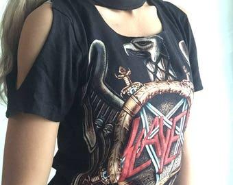 "Vintage ""Slayer"" band t-shirt"