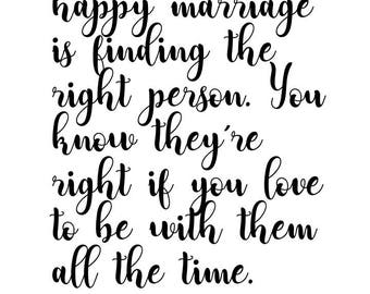 Julia Childs Marriage Quote