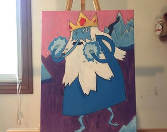 Ice King Acrylic on Canvas