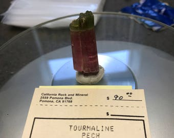 Classic Tourmaline (Bi-color) Crystal