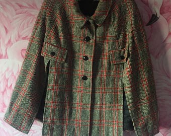 Genuine 1960s mod cape coat