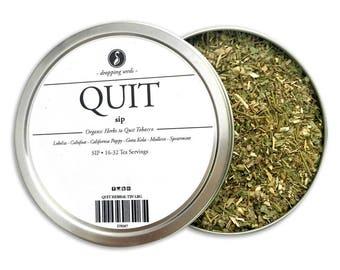 QUIT Herbal Blend - Chakra Tea - Herb Blend - Herbal Magic, Diy Herbal Blend, Chakra Blend, Herbal Tea Blend, Herbal Soak, Herbal Bath Salts
