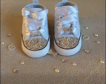 Swarovski Customised Baby Crib Converse
