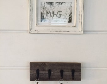 Rustic Barn Wood Key Holder