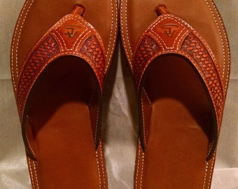 Men's leather flip flop/Sandal