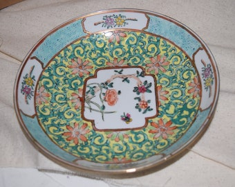 Vintage Wony Japanese Porcelain Ware Decorated in Hong Kong, c1970,  Home Decor, Home Accents, Collectables, Shabby Chic, Boho Style