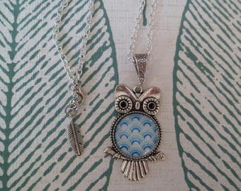 """Necklace """"OWL made waves!"""