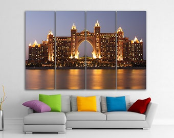 Dubai Dubai Poster Dubai Photo Dubai Wall Art Dubai Print Dubai skyline Dubai Photo Dubai Art Dubai Canvas Dubai Print