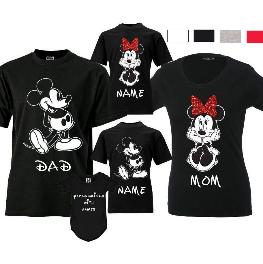 48dfb795 Disney Family Shirts Family Disney Shirts For Family Minnie Mickey Mouse  Family Vacation Shirts Matching Family