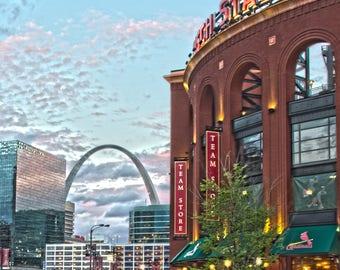 Busch Stadium - St Louis, MO - Fine Art Print