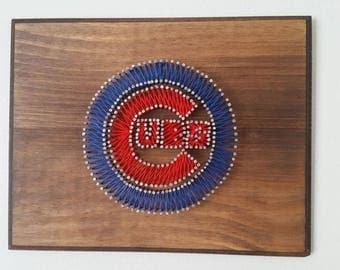 Baseball Team String Art Made to Order