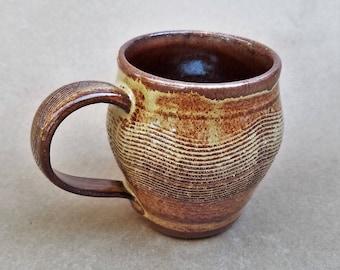 Handmade Ceramic Mug, Textured Mug