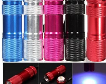 Black Light LED flashlight