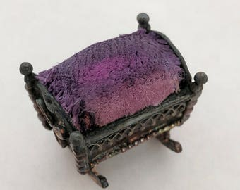 Vintage Beau Sterling Silver Pincushion