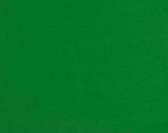 Green Cotton Fabric, Solid Cotton Fabric, 100% Cotton, Plain Cotton Fabric, Fabric by the Yard, Quilting Fabric, Green Cotton Fabric