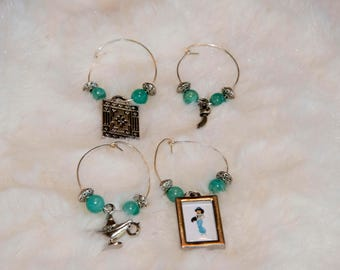Aladdin Wine Charms