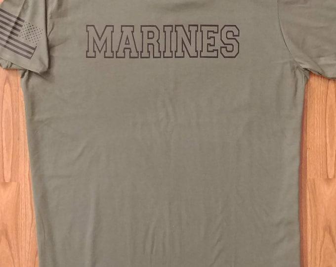 Marines - USMC - Marines Shirt - Mens Shirt - Womens Shirt - US Marines, Marine Wife, USMC Shirt, Marine Tee, Marine Veteran, T-Shirt