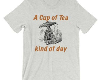 A Cup Of Tea Kind Of Day Spartees Short-Sleeve Unisex T-Shirt