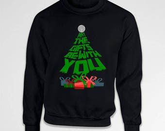 Funny Xmas Gifts For Star Wars Fans Movie Quote Christmas Hoodie Holiday Gift Ideas For Men Xmas Clothes Christmas Present X-Mas TEP-578