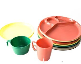 Lot of Vintage Plates & Cups - Gitzware