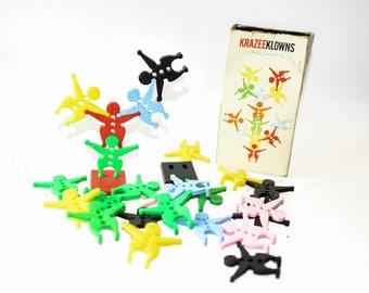 Krazee Klowns Vintage Children's Toy by Child Guidance Toy