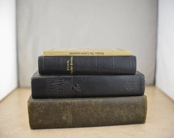Lot of 4 Vintage Hardcover Books
